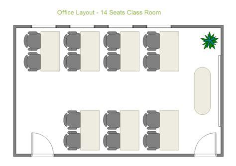 create your own classroom floor plan 14 seats class room free 14 seats class room templates