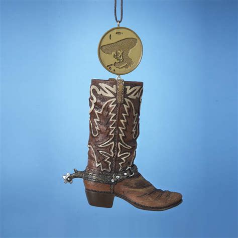 studio 56 collectibles cowboy boot ornament wayne cowboy boot ornament item 103377 the mouse