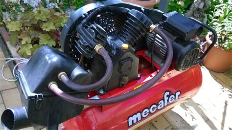 air compressor really effective sound reduction modification