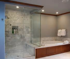 master bath and shower traditional bathroom portland by designer s edge kitchen bath