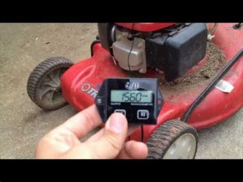 how to hook up an hour meter on a boat how to hook a tach up to a lawnmower doovi