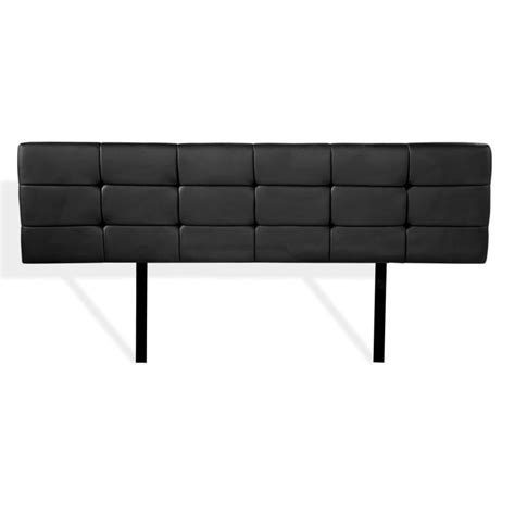 black leather king headboard king size deluxe pu leather headboard in black buy king