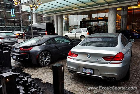 bmw i8 canada bmw i8 spotted in vancouver canada on 12 27 2015