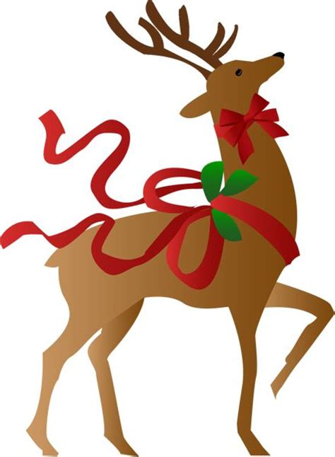 reindeer clip art and christmas on pinterest