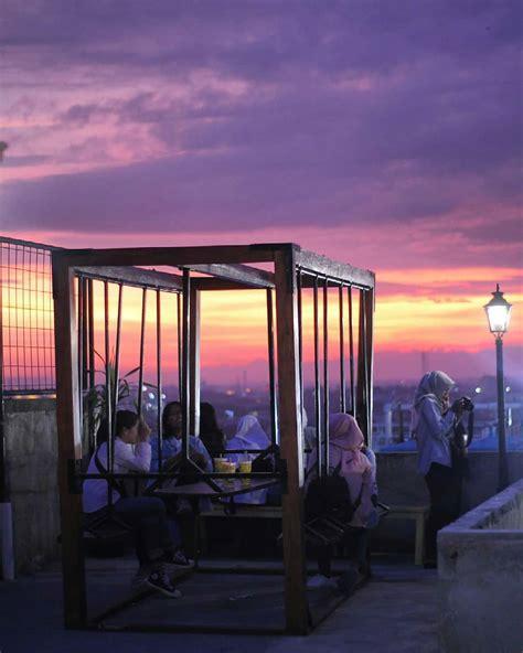 tempat wisata hits  sky jogja populer  kekinian