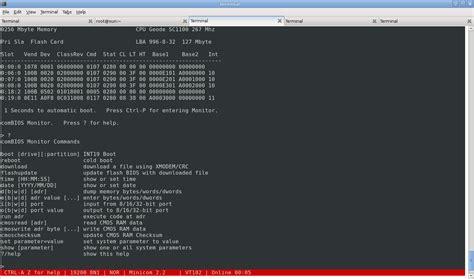 Tutorial Minicom Linux | linux unix minicom serial communication program nixcraft