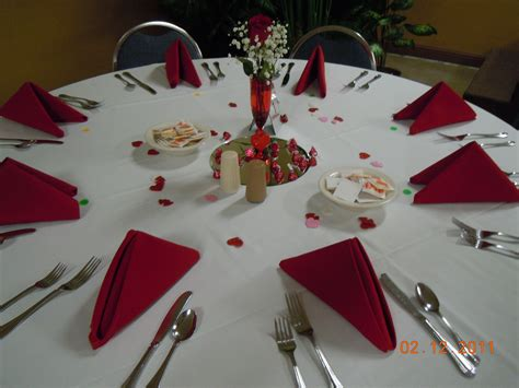 Table Set Up | table set up valentine 2011