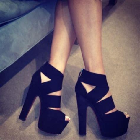 high heel platforms shoes shoes high heels high heels black black shoes