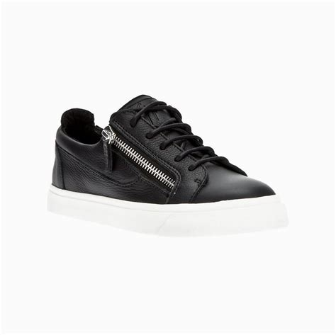 giuseppe mens sneakers giuseppe zanotti shoes s low cut zip leather sneakers