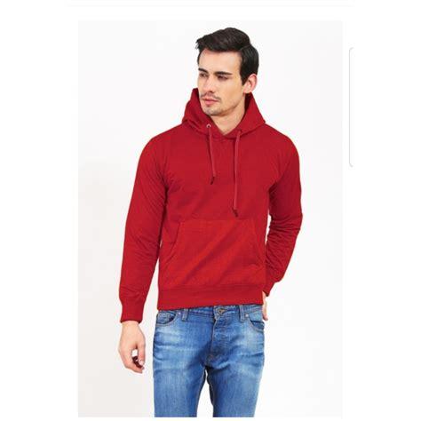 Sweater Hoodie Pria Black jumper hoodie pria elevenia