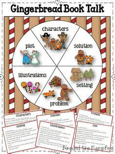 The Gingerbread Book Report by Gingerbread On Sequencing Activities Grade And Story Elements