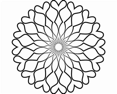 blank coloring pages for adults blank mandala for coloring by bcre80v on deviantart