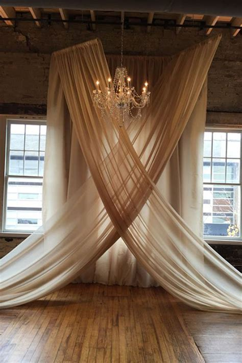 220 best Fabric Draping images on Pinterest   Weddings