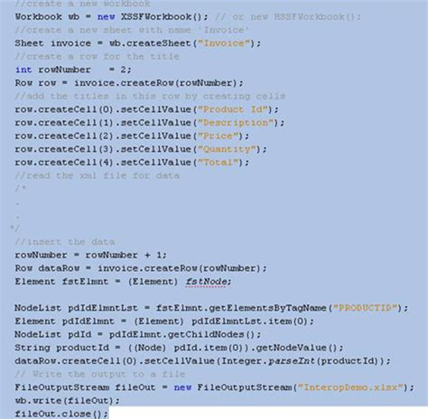 Xml Tutorial For Java Developers | open xml made easier for java developers with apache poi
