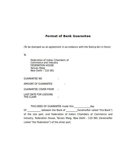 bank guarantee cancellation letter to bank bank guarantee letter format my