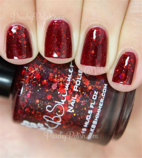Fab Fall Shades by Kbshimmer Fall 2014 Collection Swatches Review Peachy