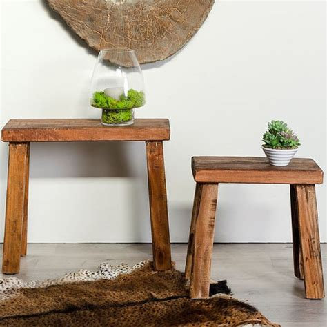 sgabelli etnici pouff cassapanche e bauli in legno prezzi scontati etnico