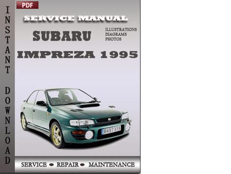 download car manuals 1995 subaru impreza auto manual subaru impreza 1995 factory service repair manual download tradebit