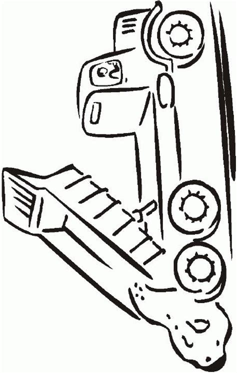 coloring pages of a truck trailer free coloring pages of trucks with trailers