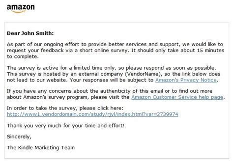 email format to customer customer satisfaction survey