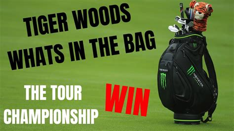 tiger woods whats   bag win number  youtube