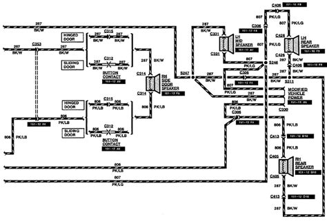 1998 ford f 150 trailer wiring harness diagram wiring