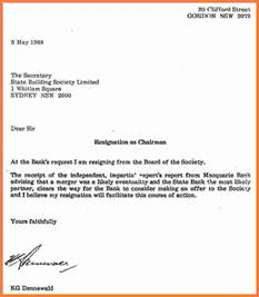 How To Write Resignation Notice by 5 How To Write A Proper Letter Marital Settlements Information