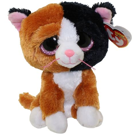 ty beanie babies ty beanie boos tauri the cat glitter regular size 6 inch bbtoystore