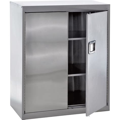 stainless steel cabinets for sandusky buddy stainless steel storage cabinet 36in w x