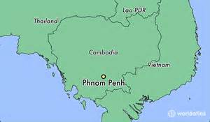 World Map Cambodia by Where Is Phnom Penh Cambodia Where Is Phnom Penh