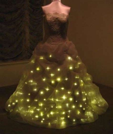 Light Up Dress by Oled Space Dress And Led Wedding Dress Next Wave Or New