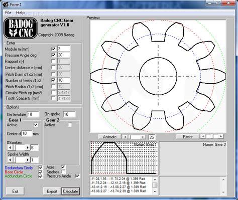 gear layout software download badog gear designer 3 1