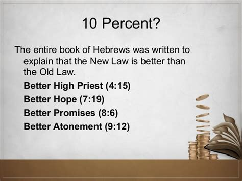 The truth about giving iv Explain Hebrews