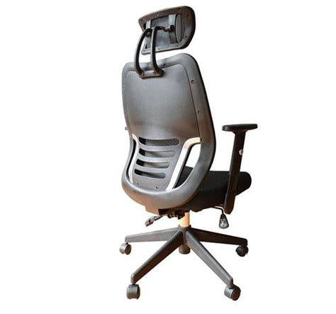 Headrest For Office Chair by Ergonomic Mesh Office Chair With Headrest Black Aosom Ca