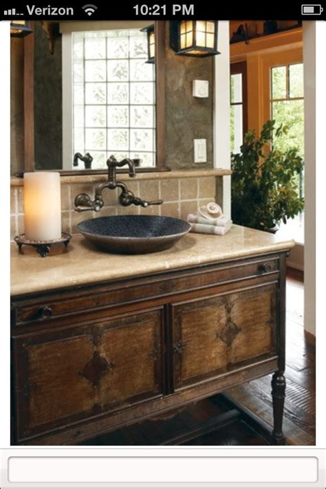 rustic chic bathroom rustic chic bathroom sink home where life happens pinterest