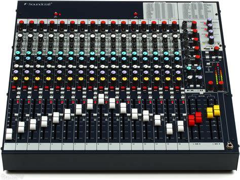 Mixer Soundcraft Fx16ii soundcraft fx16ii mixer with effects gearnuts
