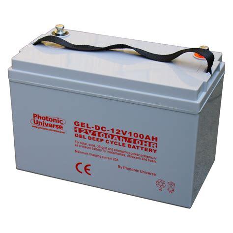 deep cycle boat battery 100ah 12v gel deep cycle battery for motorhome caravan