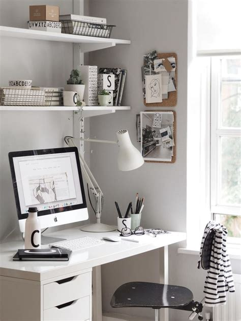 small white desks for bedrooms 25 best ideas about grey office on office
