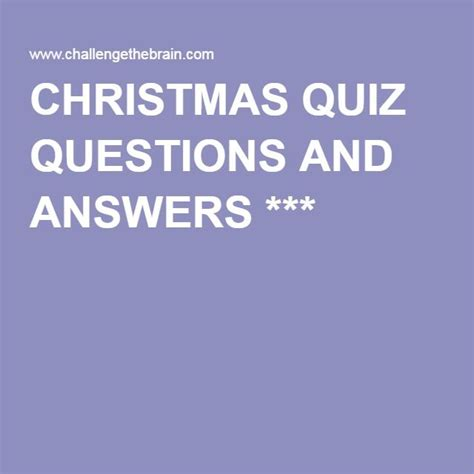 quiz questions nz the 25 best christmas quiz with answers ideas on
