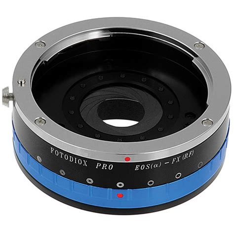 Lensa Adapter Eos Fuji Fx by Fotodiox Canon Ef Pro Lens Adapter With Built In Eos Iris