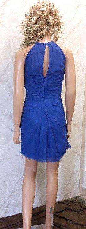 Hijacket Beautix Royal Blue Bx Royal Blue Original royal blue chiffon bridesmaid dress