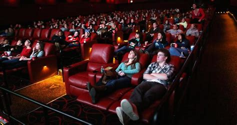 reclining movie theater seats amc is trying the netflix model in boston theaters is it
