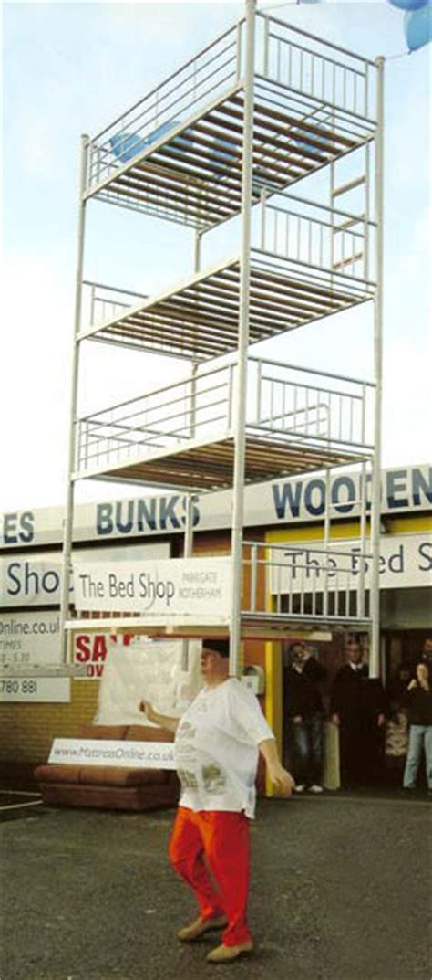 tallest bunk bed some of my world records by dowdeswell social