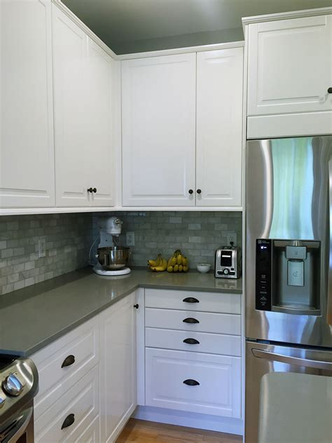 Ikea Kitchen Base Cabinet Before And After Kitchen Makeover With Ikea Sektion
