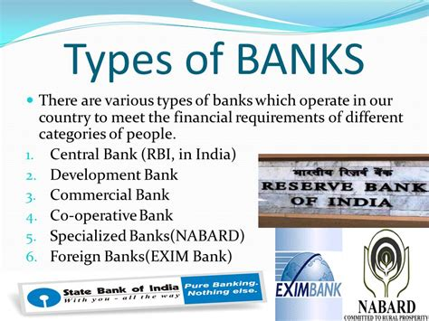 different types of banks in india credit creation by commercial banks ppt