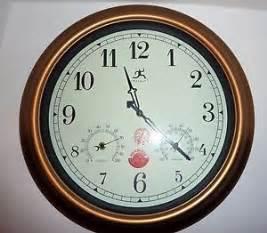 Infinity Outdoor Clocks Infinity Instruments Indoor Outdoor Wall Clock The