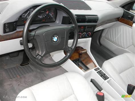 Grey Interior 1995 BMW 5 Series 530i Sedan Photo #58063351