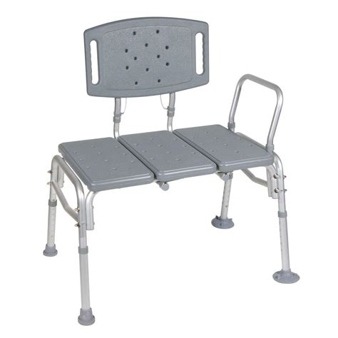 adjustable transfer bench delta adjustable tub transfer bench df565 the home depot