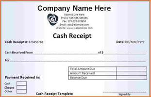 7 make a receipt budget template letter
