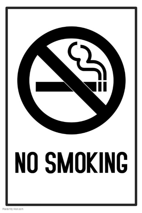 no smoking sign in word no smoking sign template free postermywall